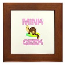 Mink Geek Framed Tile