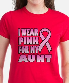 Aunt Pink Ribbon Tee