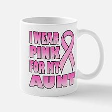 Aunt Pink Ribbon Mug