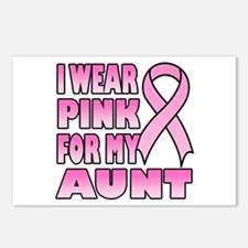 Aunt Pink Ribbon Postcards (Package of 8)