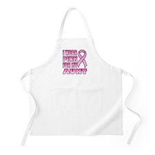 Aunt Pink Ribbon BBQ Apron