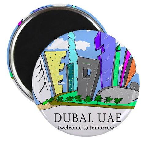Dubai, UAE Magnet