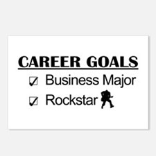 Business Major Career Goals Rockstar Postcards (Pa