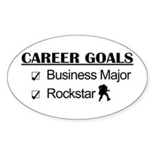 Business Major Career Goals Rockstar Decal