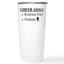 Business Major Career Goals Rockstar Travel Mug