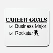 Business Major Career Goals Rockstar Mousepad