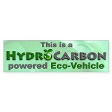 HydroCarbon Eco-Vehicle Bumper Bumper Sticker