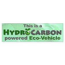 HydroCarbon Eco-Vehicle Bumper Car Sticker