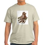 English Trumpeter Red Splash Light T-Shirt