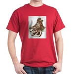 English Trumpeter Red Splash Dark T-Shirt