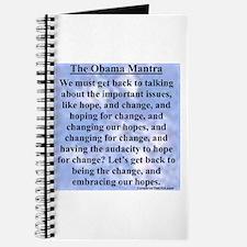 """Obama's Mantra"" Journal"