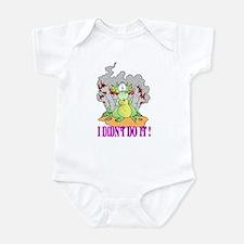 I DIDN'T DO IT Infant Bodysuit