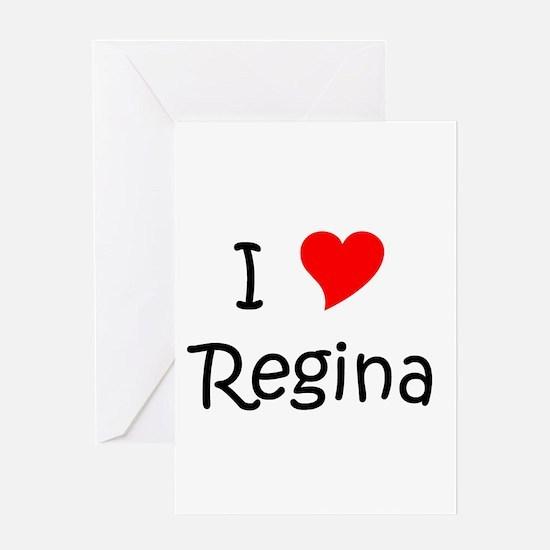 Funny Regina Greeting Card