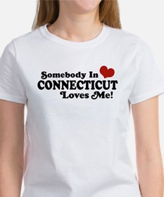 Somebody in Connecticut Loves Me Tee