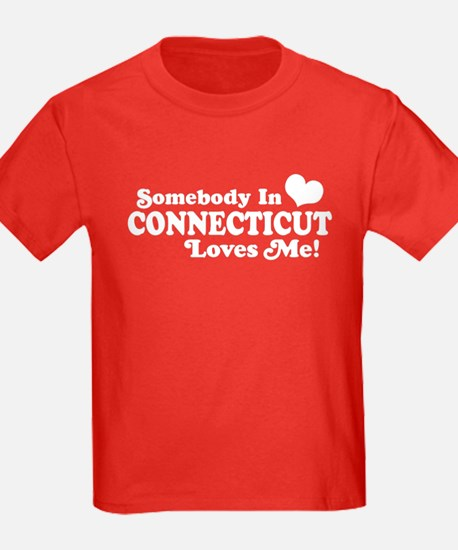 Somebody in Connecticut Loves Me T
