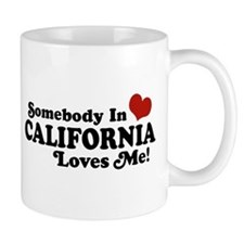 Somebody in California Loves Me Mug