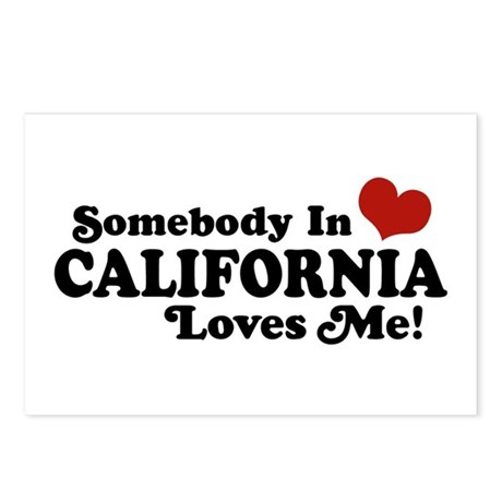 Somebody in California Loves Me Postcards (Package