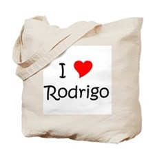 Cute I love rodrigo Tote Bag