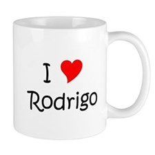 Cute I love rodrigo Mug