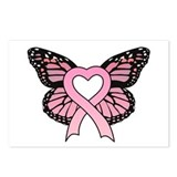 Pink ribbon Postcards