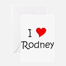 Cute Rodney Greeting Card