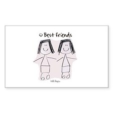 Best Friends Decal