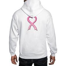 Heart Pink Ribbon Hoodie