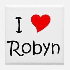 Unique Robyn Tile Coaster