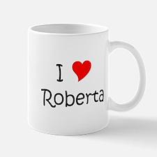 Cute I heart roberta Mug