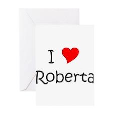 Funny Love roberta Greeting Card