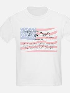 Amendment II and Flag T-Shirt