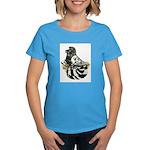 English Trumpeter Dark Splash Women's Dark T-Shirt