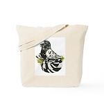 English Trumpeter Dark Splash Tote Bag