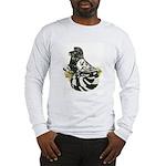 English Trumpeter Dark Splash Long Sleeve T-Shirt