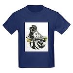 English Trumpeter Dark Splash Kids Dark T-Shirt