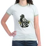 English Trumpeter Dark Splash Jr. Ringer T-Shirt
