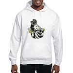 English Trumpeter Dark Splash Hooded Sweatshirt