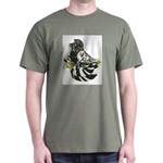 English Trumpeter Dark Splash Dark T-Shirt
