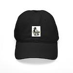 English Trumpeter Dark Splash Black Cap