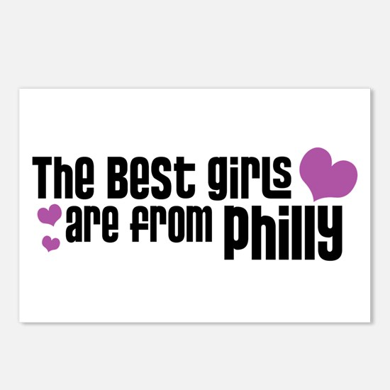 The Best Girls are from Philly Postcards (Package