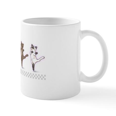 Dancing Kitties Mug