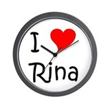 I love rina Wall Clocks