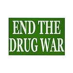 End the Drug War Rectangular Magnet