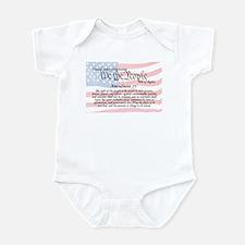 Amendment IV and Flag Infant Bodysuit