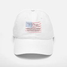 Amendment IV and Flag Baseball Baseball Cap