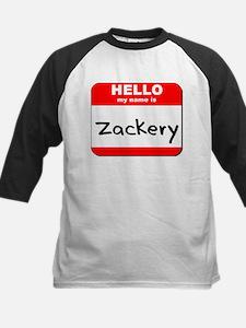 Hello my name is Zackery Tee