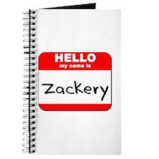 Hello my name is Zackery Journal