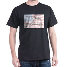 Amendment VIII and Flag T-Shirt