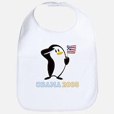 Proud Penguin OBAMA 2008 Bib