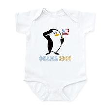 Proud Penguin OBAMA 2008 Onesie